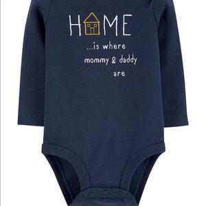 Carter's Baby Boy Home Original Bodysuit